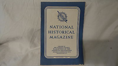 December 1944  NATIONAL HISTORICAL MAGAZINE  DAUGHTERS OF AMERICAN REVOLUTION