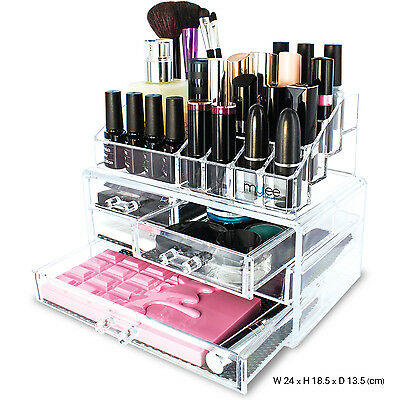 Mylee Beauty Organiser Accessories Makeup Holder Storage Acrylic 20 Compartments