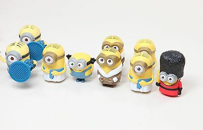 Lot of 16 McDonald's Happy Meal Minion Toys 2015 Despicable Me Figurines