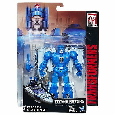 New Hasbro Transformers Titans Return Deluxe Class Fracas And Scourge  B7029