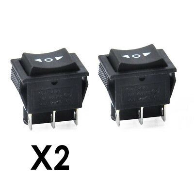 1Pcs AC 250V/15A 125V/20A ON/OFF/ON 3 Position DPDT 6 Pins Boat Rocker Switch