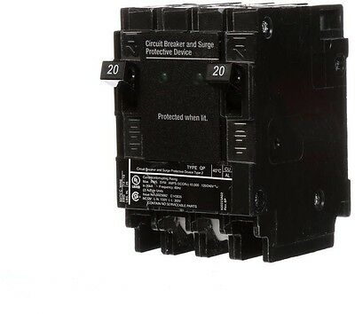 Siemens 20 Amp 6.5 In. Whole House Surge Protector Electrical Circuit Breaker