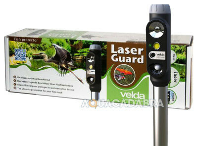 Velda Laser Guard Pond Heron Pest Cat Deterrent Scarer Koi Fish Protector Garden