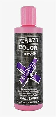 Crazy Color Vibrant Color Maintaining Shampoo For All Purple Shades 250 ml