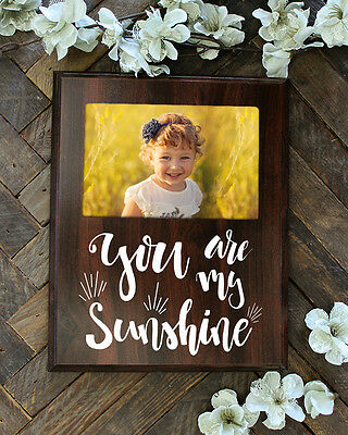 You Are My Sunshine Picture Frame Nursery Gift Baby Shower Gift