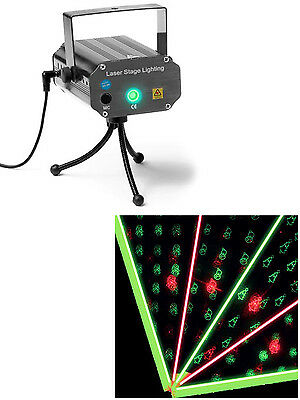 Christmas Laser Light Projector Wall Ceiling Indoor Party Event Sound Activated