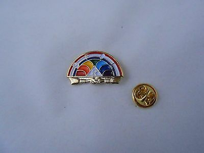 Masonic  -  Order of Rainbow for Girls Pin 21MM (PSCP10)