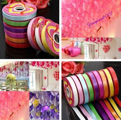 Roll Colored Curling Balloon Ribbon Gift Wrap Birthday XmasWedding Party Decor J