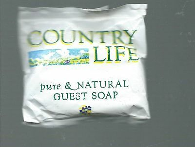 Vintage Sapone Mignon Country Life Pure Natural Guest Soap Pental Australia