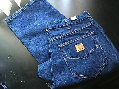 Carhartt Relaxed Fit Work Jeans  36x30 #381-83