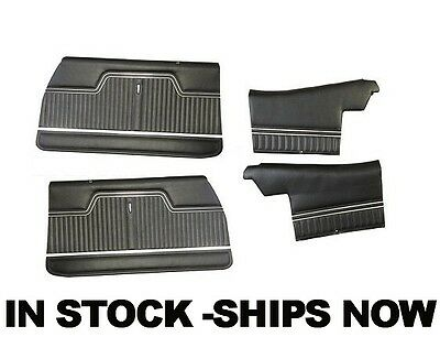 70 71 72 Chevelle Front Door/Rear Quarter Trim Panels Pre-Assembled IN STOCK