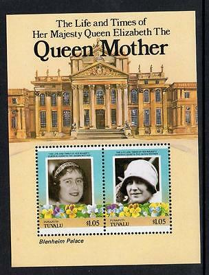 Tuvalu MNH 1985 Leaders of the World - Life and Times of Queen Elizabeth M/S