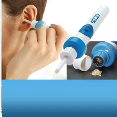 Painless Safety Cordless Electric EAR PICK Wax Remover Cleaner Vacuum i-ears LD