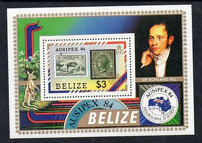 Belize MNH 1984 International Stamp Exhibition AUSIPEX `84 M/S