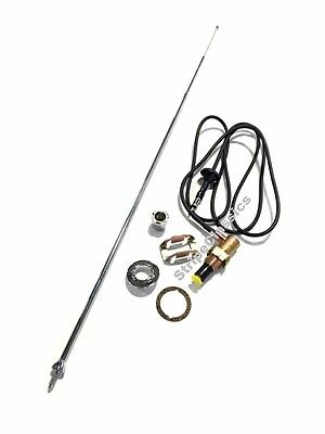 68 69 70 B-Body Road RR Complete Antenna Kit w/Correct Base 3 Mast Telescoping