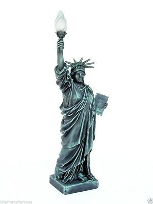 Statue of Liberty with Light Statue - Statue of Liberty Statue Replica - 3 FT