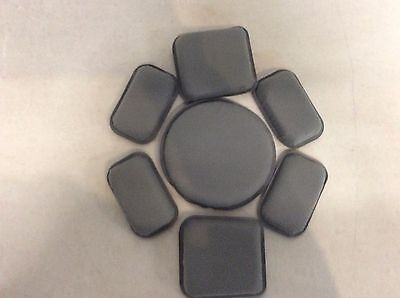 "USGI ACH MICH MILITARY ARMY Helmet Pad Set 7-Piece 3/4"" Foliage Green New"