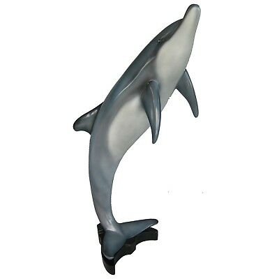 Dolphin Sculpture - Jumping Dolphin Statue - Dolphin Figurine - Small Dolphin