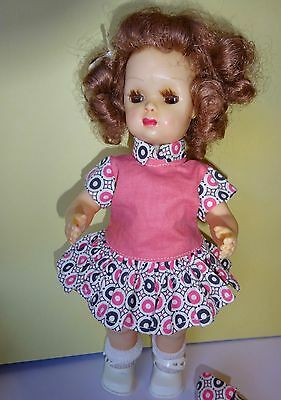 Vintage Tiny Terri Lee Doll In Tagged Outfit Two bottoms