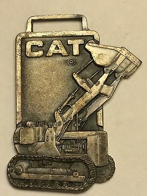 CAT Caterpillar Heavy Equipment Advertising Watch Fob Key Tag #26