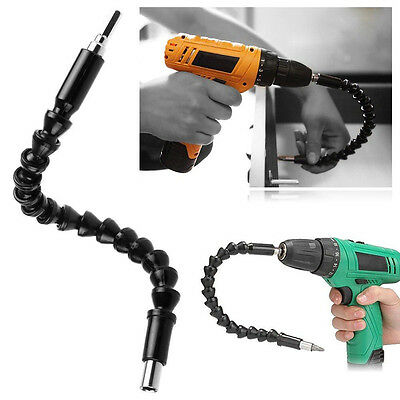 290MM Extention Screwdriver Flexible Drill Bit Shaft Bits Holder Connecting Link