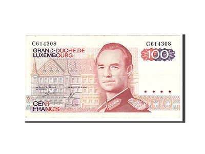 Luxembourg, 100 Francs, 1980, 1980-08-14, KM:57a, EF(40-45)