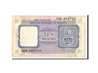 [#113781] Great Britain, 10 Shillings, 1943, KM:M5, Undated, VF(30-35)
