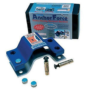 Oxford Motorbike Motorcycle Anchor Force Ground Anchor Sold Secure Thatcham