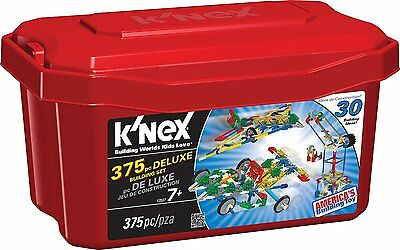 Kids Toys Games Play Construction Creating Educational KNEX Deluxe Building Set