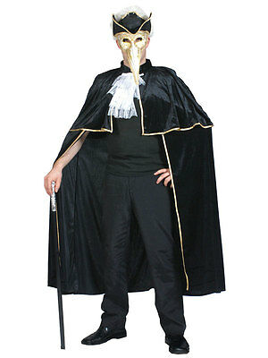 Venetian Cape + Masquerade Masks Fancy Dress Cloak Baroque Rococo