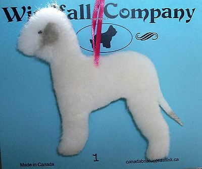 Bedlington Terrier Dog Soft Plush Christmas Canine Ornament # 1 by WC