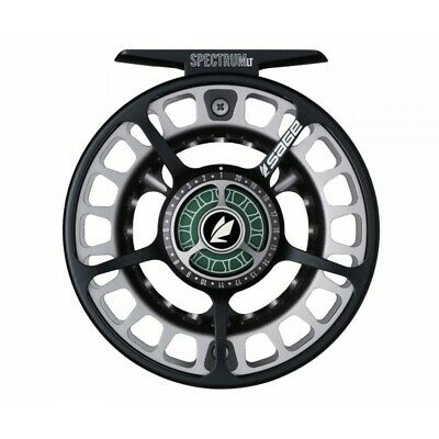 SAGE 2250 Fliegenrolle - Fly Reel - 4 5 6 BLACK/PLATINUM - 2200 Series