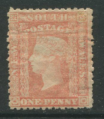 New South Wales 1860 1d red mint o.g. hinged