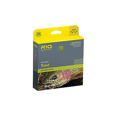 RIO AVID Trout WF Floating Fly Line - Fliegenschnur - WF8F