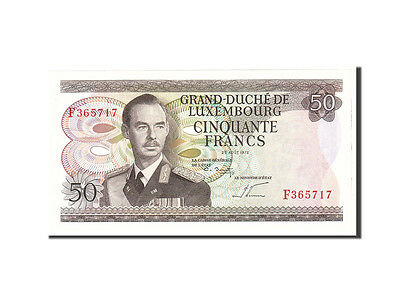 Luxembourg, 50 Francs, 1972, 1972-08-25, KM:55b, UNC(65-70)