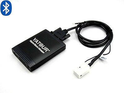 Bluetooth USB SD AUX Adapter CD MP3 kompatibel mit VW Golf Variant 6 2009-2010