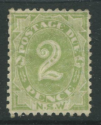 New South Wales 1902 2d green unused no gum