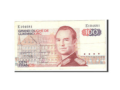 Luxembourg, 100 Francs, 1980, 1980-08-14, KM:57a, VF(20-25)