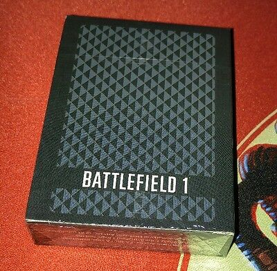 Battlefield 1 Collector's Edition Deck of Playing Cards  CARDS ONLY factory SEAL