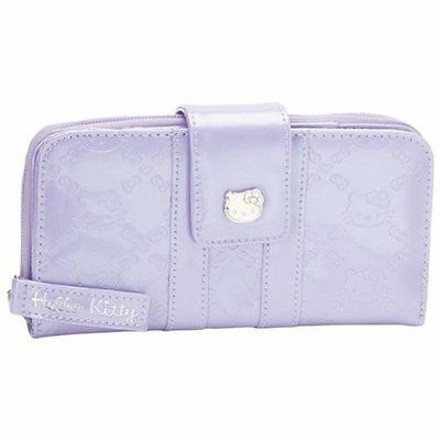 NWT Loungefly Hello Kitty Rhapsody (Lilac) Embossed Faux Patent Leather Wallet
