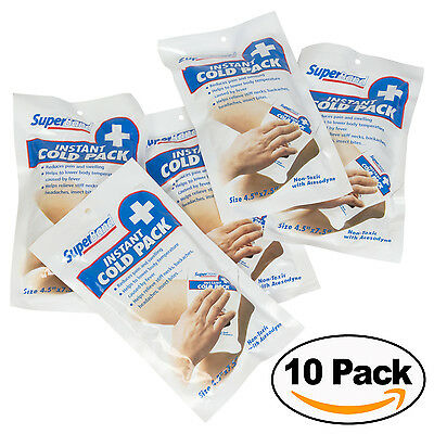 10 Instant Cold Packs  (Pack of 10)