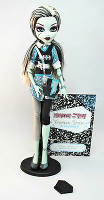 Frankie Stein Schools Out Monster High Doll Immaculate