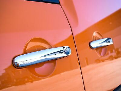 Stainless Steel Chrome 3 Door Handle Cover Trim Set Fits VW Caddy (2015 on)