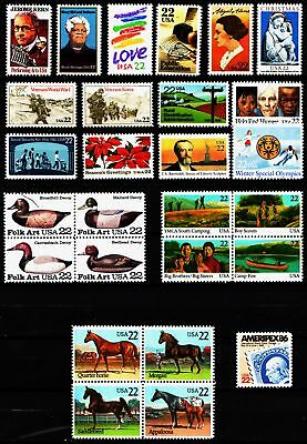 1985 Commemorative Year set  (27 Stamps) - MNH