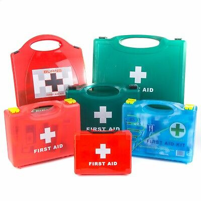 APPROVED FIRST AID KITS BSI/HSE/HSA Warehouse/Office/Physio Burn/Kitchen/Car/Set