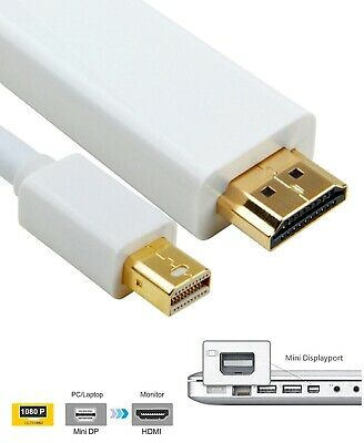 3M 10FT Mini Thunderbolt Displayport to HDMI for Apple Macbook Pro/Air