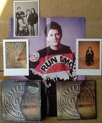 """Scritti Politti - Oh Patti 7"""" Box Set Numbered + Stamps, 3 Postcards And Poster"""