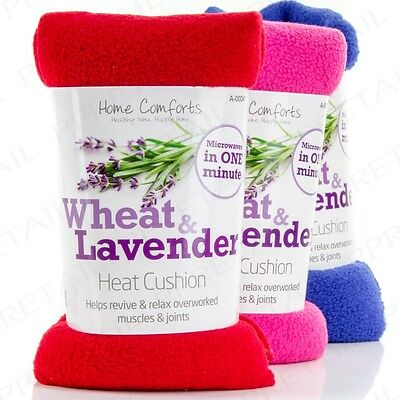 SOOTHING WHEAT & LAVENDER MICROWAVE HEAT PACK Muscle & Joint Neck Pain Relief