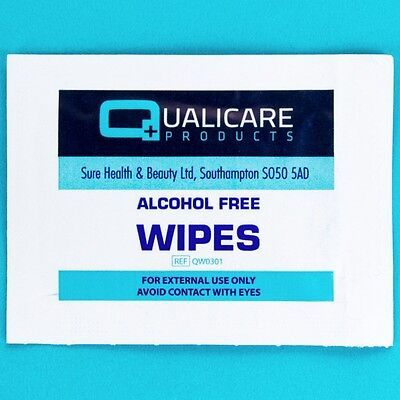 Anti Allergy 100% ALCOHOL FREE CLEANSING WIPES Antiseptic Sterile Skin First Aid