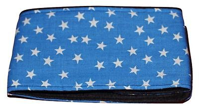 **Buy 2 get 1 free** dog belly band blue star fabric puppy adult male stud boys